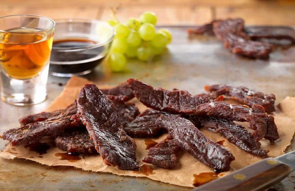 Carne glazurată cu miere și bourbon