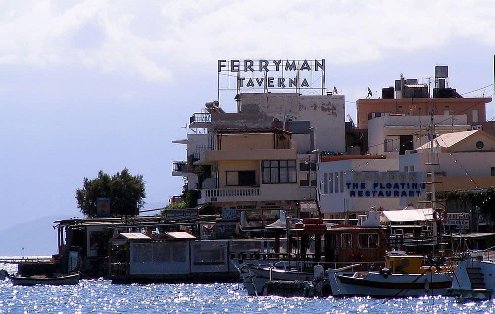 Taverna Ferryman, din Creta