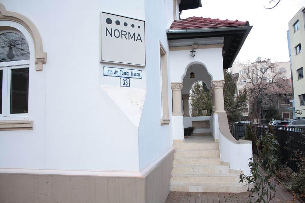 Restaurantul NORMA, din Dorobanti