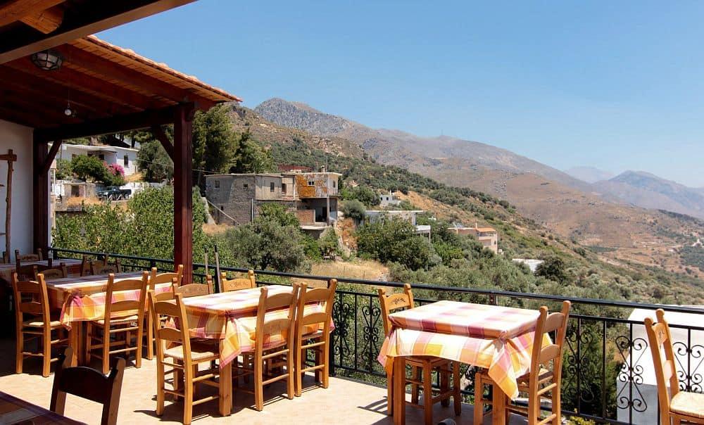 Taverna Elia, din satul Sellia, Creta