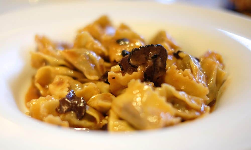 Paste italiene - Agnolotti. Foto: loveandloathingla.com