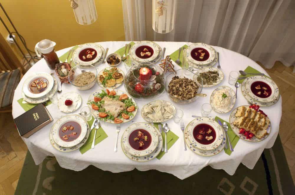 masa de craciun Ce se mănâncă la masa de Crăciun în 15 țări ale lumii Wigilia polonia