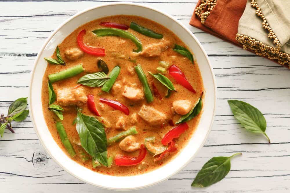 panang curry thailandez