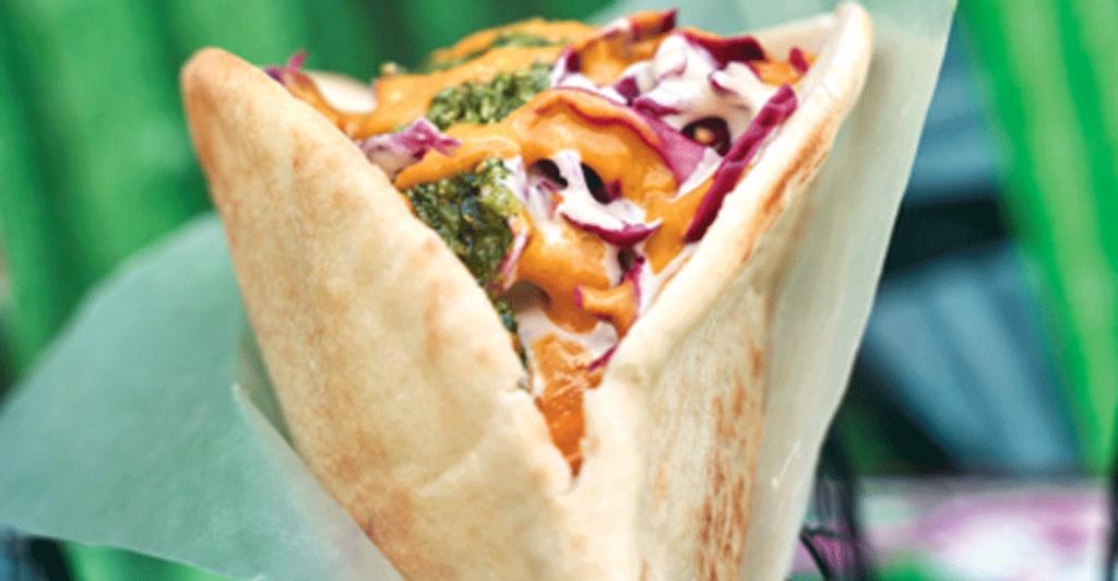 sandviș vegetarian
