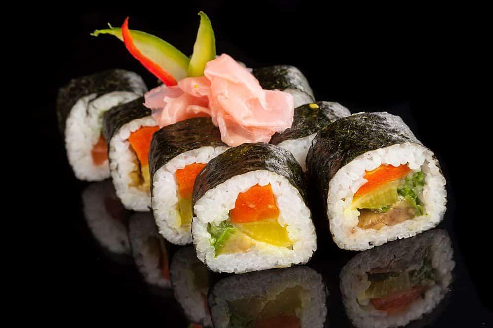 Nu exagera cu wasabi-ul pe sushi