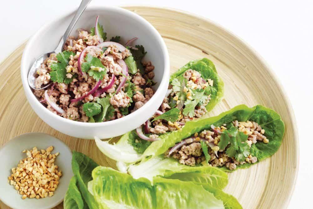 larb salata thai