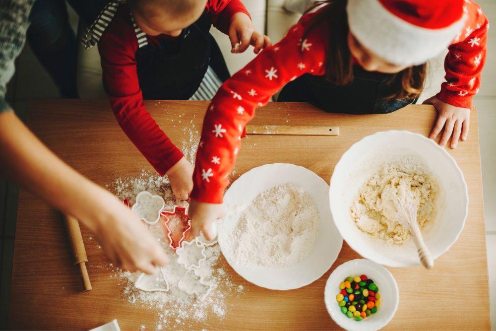 Lecții pentru copii în bucătărie