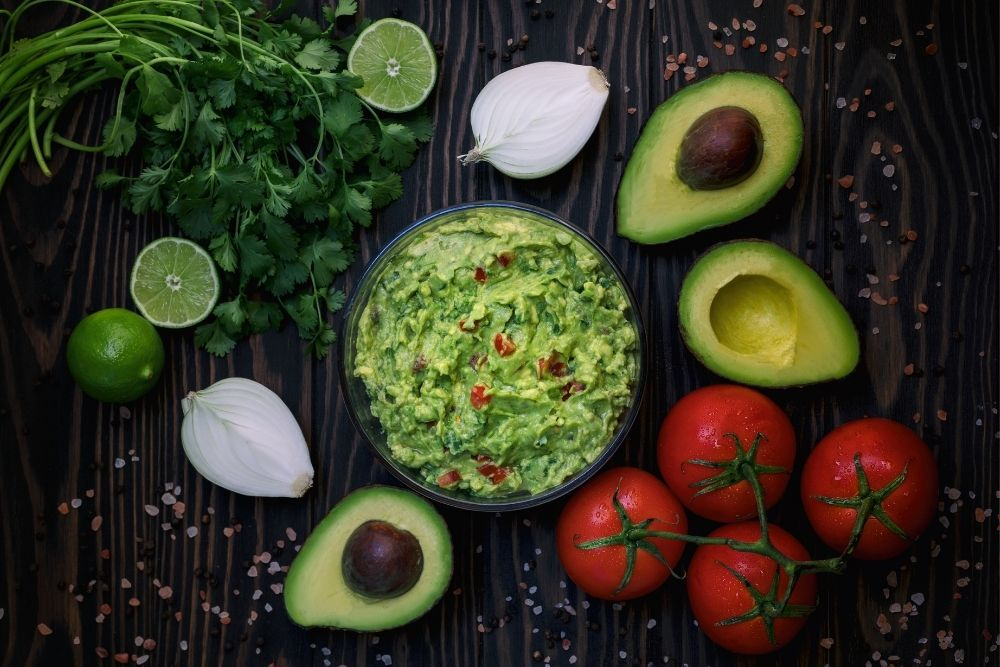 guacamole ingrediente